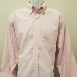 Brooks Brothers Men's Pink Dress Shirt
